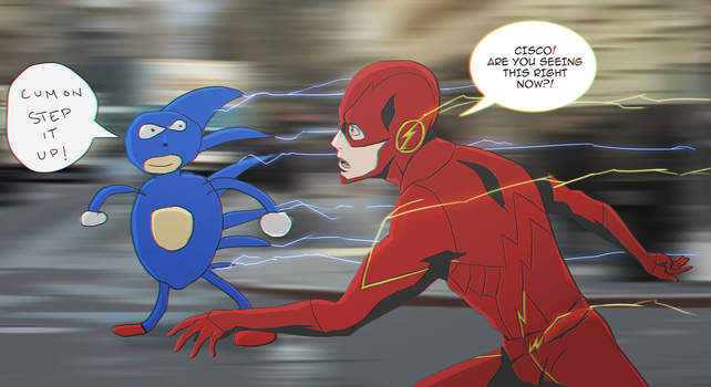 Sanic is Coming by FXNart
