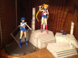 Sailor Moon on the Moon by TennyCap