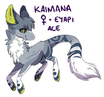 kaimana by RayquazaSilver