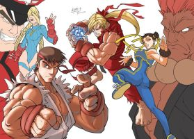 NeMAfronSPAiN Street Fighter by tai-gar