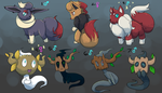 PKMNation: Allegro/London Clutch [CLOSED] by garbagekeeper