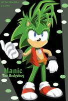 Manic The Hedgehog by Rina-Star