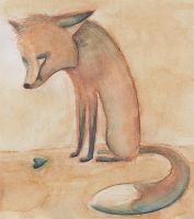 The Fox And The Heart by Skia
