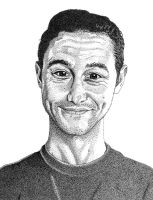 Joseph Gordon-Levitt Pointillism by mal42087