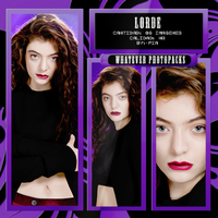 Lorde by Whatever-Photopacks
