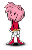 Doodle of Amy by Darklight98