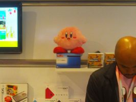 Kirby 20th at Nintendo World 16 by MarioSimpson1