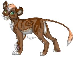 Male Liger Adopt (CLOSED) by xXYoiteShindouXx