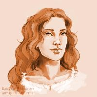 Portrait Commission: Danielle by fee-absinthe