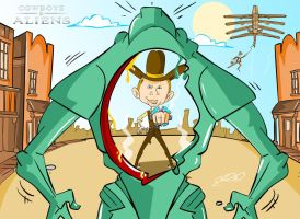 cowboys and aliens by superhilalo