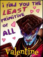 Mass Effect Valentine - Primitives by efleck