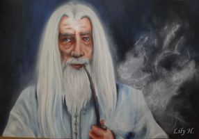Gandalf the White. by lilyeskapisti