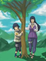 Hinata Past and Present Time by akeeba