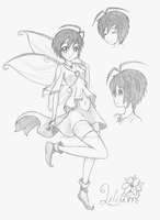 Lilium BnS OC by vipexplosion