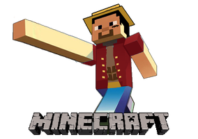 Luffy_Minecraft by BigMasi