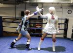 Lili and Asuka on the ring by Giuly-Chan