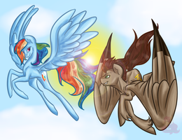 fly with me by Cybiline
