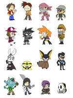 URPG Crew (Complete) by kenshinmeowth