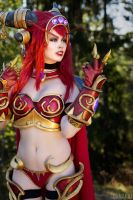 World of Warcraft Alexstrasza Cosplay ! by KawaiiTine
