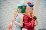 Macross Frontier - Ranka Lee and Sheryl Nome by YukinoHayasaka
