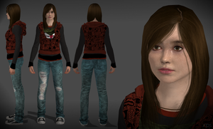 DOWNLOAD Jodie teen long hair by XXMAUROXX
