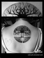 tree of life tattoo by redtrujillo