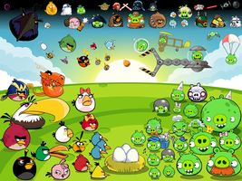 Angry Birds Universe: ''Epig'' Battle by Eva-The-Sparrow