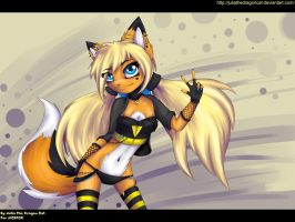 .:It's My Sunny Day:. for AICEFOX by JuliaTheDragonCat