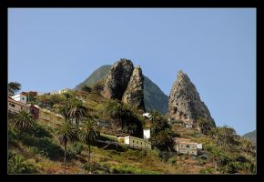 In Mountain Of Gomera Island by skarzynscy