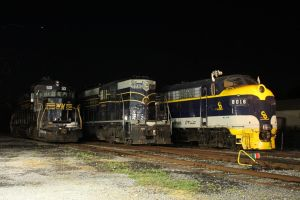 Night on South Branch Valley Railroad by 3window34
