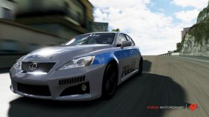 Police Lexus by pl3th0ra