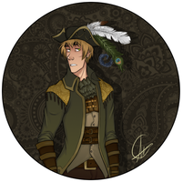 Sky PIrate!Arthur by SarcasticBrit