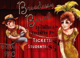 Broadway Bound Poster by Kumu18