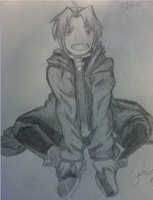 Edward Elric by zubbheart
