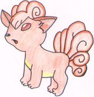 Vulpix by water16dragon