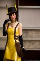 Steampunk Pikachu Cosplay by EmmaKyeArt