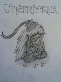 Chibi Undertaker by NoodleLizard