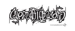 Spread the Word ambigram by Leconte
