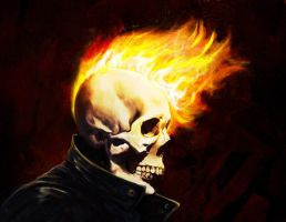 Ghost Rider Greaser by Donkdafied