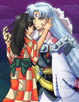Sesshomaru x Rin by CrazyForJapan123