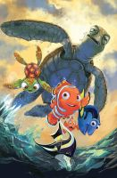 Finding Nemo Cover Issue 1 by lazesummerstone