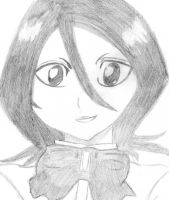 Rukia Fan Art I by Zero91CZ
