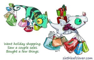 Going Shopping by The-SixthLeafClover