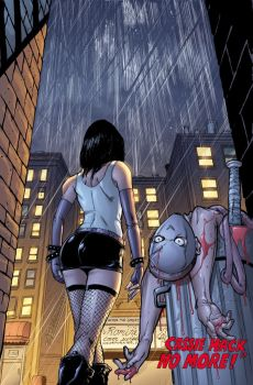 Hack Slash issue19 cover color by ColtNoble