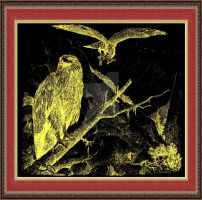 Holy Empire German eagle ca. 1890 by Mikewildt