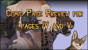 page IV and V preview by DawnFrost