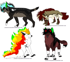 Adopts batch one by ChessWolfAdopts