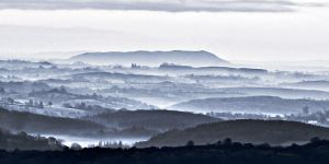 Mist Layers over Fermanagh by mole2k