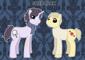 My Little Sherlock by Krazy-Chibi