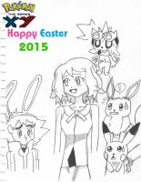 Happy Easter from Amourshipping! by Pikafan09